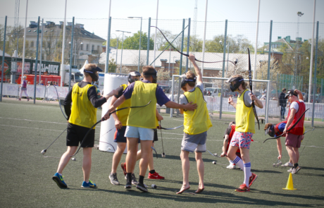 Archerytag - Combat archery - Archery tag -svensexa i Malmö